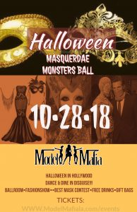 Halloween Masquerade Monsters Ball @ The Parlor Hollywood