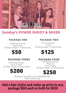 Monthly Power Shoot & Model Mixer