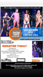 La Fashion Fest casting call
