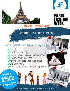 Fashion Fest Tour: Paris @ Eiffel Tower