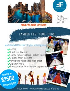 Fashion Fest Tour: Dubai
