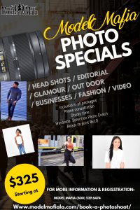 SUMMER PHOTOSHOOT SPECIALS